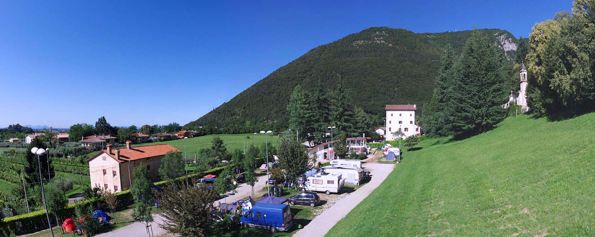 Camping antica abbazia for Borso del grappa piscine